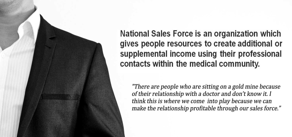 National Sales Force: Successful Sales Rep Career